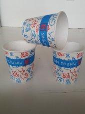 Karton Bardak Eczane Desenli 1500 Lü Lugga Paper Cup