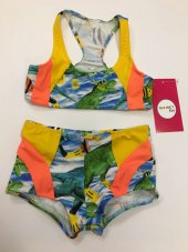 Kız Çocuk Yüzücü Bikini Sn3ym1792087