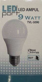 Ledport 9w (60w) E27 Duy Led Ampul Beyaz Işık
