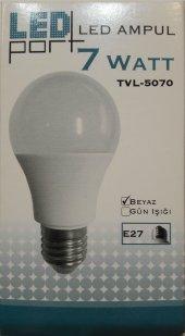 Ledport 7w (40w) E27 Duy Led Ampul Beyaz Işık