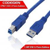 CODEGEN 1.5m USB3.0 Yazıcı Kablosu CPM21