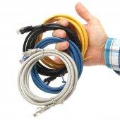 DARK Cat6 3m UTP Awg Bakır Mavi Patch Network Kablosu DK-CB-NT6U300BU-8
