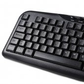 HIPER KM-4000 USB Siyah Multimedya Klavye KM-4000-3