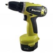 Daystar DS 144 Akülü Matkap 14V 2Ah çift akü