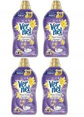 Vernel Max Nergiz Çiçeği Yumuşatıcı 1440 Ml*4 Adet