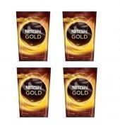 Nescafe Gold 100 Gr Poşet*4 Adet