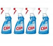 Clin Cam Temizleyici Mavi 500 Ml*4 Adet