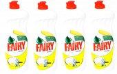 Fairy Sıvı Bulaşık Limon 675 Ml*4 Adet