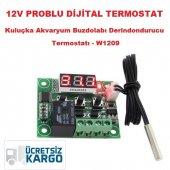 Dijital Termostat 12v Kuluçka,akvaryum,buzdolabı,derindondurucu