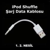Ipod Shuffle 1. 2. Nesil Data Şarj Kablosu İpod Shuffle Kablo
