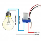 Fotosel 24v Ldr Otomatik Işık Sensörü Gece Otomatik Çalışır 24v
