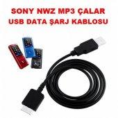 Sony Nwz Mp3 Çalar Player Usb Data Şarj Kablosu