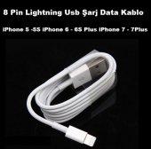 Iphone 5 5s İphone 6 6s Plus İphone 7 7plus Usb Şarj Data Kablo