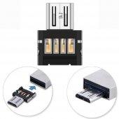 Usb To Mikro Usb Otg Adaptör Telefona Flash Bağlama