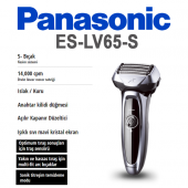 Panasonic Es Lv65 S803 Elektrikli Ve Şarjlı...