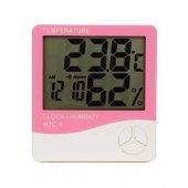 Htc 1 Dijital Termometre Sıcaklık Ve Nem Ölçer...