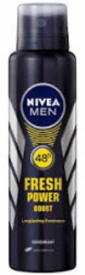 Nıvea Deodorant Bay Fresh Power Boost 150ml