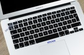 MacBook Air Pro Retina F Türkçe Klavye Koruyucu Özel Tasarım-2