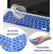 MacBook Air Pro Retina F Türkçe Klavye Koruyucu Özel Tasarım-6