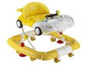 Babyhope 215 Arabam Yürüteç Sarı Beyaz