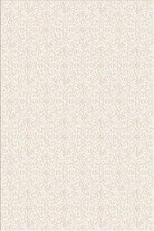 Beyaz Renk Klasik Desen Yatak Odası Halısı Hs91419c