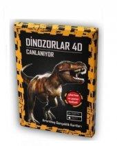 Artge Kids Yayınları Dinozorlar 4d Artırılmış Gerçeklik Teknolojili Kartlar