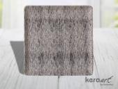 Keramika Kare Servis Tabağı 24cm Mat Transparan Be...