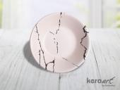 Keramika Hitit Yemek Tabağı 18cm Mat Transparan Be...