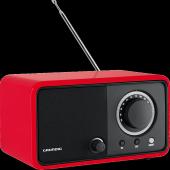 Grundig Tr 1200 Kırmızı Taşınabilir Retro Radyo...