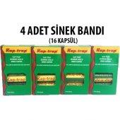 Kap Trap Sinek Bandı Yapışkanı 16 Kartuş (4 Paket)