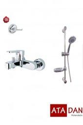 Penta Fors Banyo Bataryası + Yms Safir Sürgülü Duş Seti