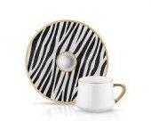 Koleksiyon Sufi Türk Kahvesı Seti 6 Lı Zebra