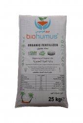 Biohumus Organik Gübre Bitki Besin Gübresi 25000 Kg (25 Ton)
