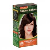 Organıc Natural Colors Saç Boyası 6d Fındık Kabuğu...