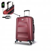 My Valice Smart Bag Exclusive Usb Şarj Girişli Ort...