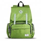 My Valice Smart Bag Mother Star Usbli Anne Bebek Bakım ve Sırt Çantası Açık Yeşil-2