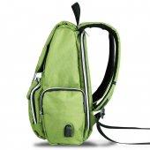My Valice Smart Bag Mother Star Usbli Anne Bebek Bakım ve Sırt Çantası Açık Yeşil-3