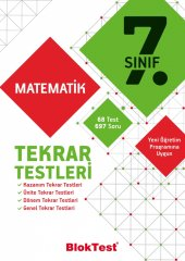 Tudem 7.sınıf Bloktest Matematik Tekrar Testleri
