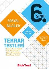 TUDEM 6.SINIF BLOKTEST SOSYAL BİL. TEKRAR TESTLERİ