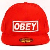 Itaat Et Hip Hop Cap Şapka Kırmızı Unisex Amerikan Şapka Cp37