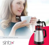 Sinbo STM-5811 Çay Makinesi-Inox-2