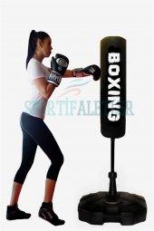 Spor Byfit 150 Cm Ayaklı Yaylı Boks Vurma Standı-2