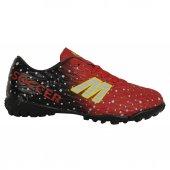 MP 191-7370FT Kırmızı Cırtlı Halısaha Çim Çocuk Futbol Ayakkabı