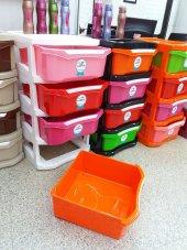 Çok Renk Seçim Ev Tuvalet WC Banyo Ofis Kapı Yanı Çekmeceli Çamaşırlık Ayakkabılık Komodin Raf Dolap-2