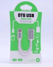 Xiaomi Redmi Note 5a Prime Type-C USB Otg Kablo Mouse Klavye Flash Bellek Çevirici Dönüştürücü-4