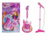 Winx Club Oyuncak Mikrofon Ve Elektro Gitar Seti