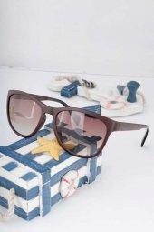 Clariss Marka Kahverengi Çerçeveli Güneş Gözlüğü
