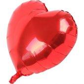 Samur Kalp Balon Folyo Kırmızı 45 Cm