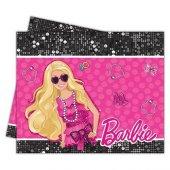 Barbie Masa Örtüsü 120cm X 180cm Doğum Günü Masa Örtüsü