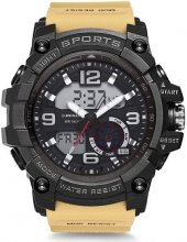 Dunlop Dun 339 G07 G Shock Modeli Çift Saat Kol Saati